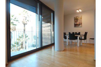 Ref 3351 – Apartament en lloguer a la zona de Lesseps, Barcelona. 68m2