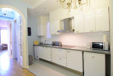 Ref 3804V – Apartament en venda a la zona de Eixample, Barcelona. 85m2