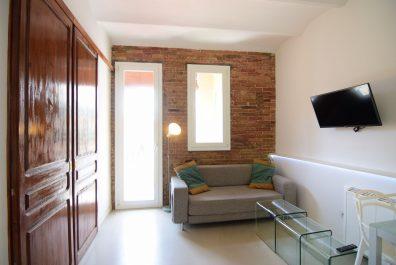 Ref 3828 – Apartament en lloguer a la zona del Raval, Barcelona. 31m2