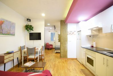 Ref 4066 – Apartament en lloguer a la zona del Poble Sec, Barcelona. 35m2